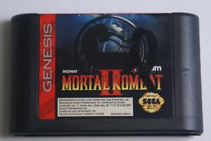 Mortal Kombat II - Sega Genesis Game - Classic Fighting Action