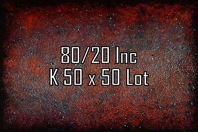 8020 T Slot Aluminum Extrusion K 50 X 50 N Lot