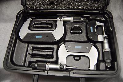 Fowler 52-229-213-0 Swiss Style Micrometer Set 0-3 .0001
