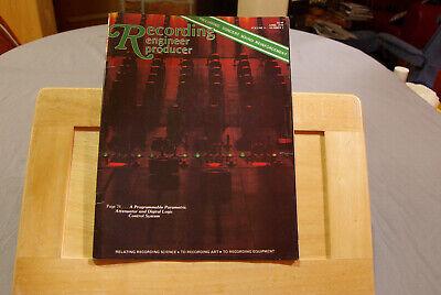 Recording Engineer Producer Vol. 9  No. 2 April 1978  Zeitschrift