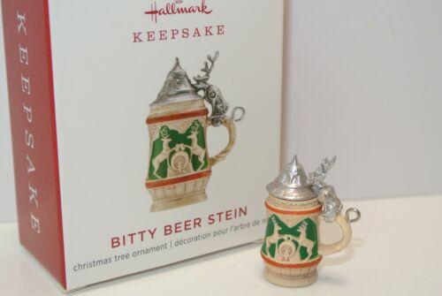 2019 Hallmark Keepsake BITTY BEER STEIN Miniature Ornament BRAND NEW MINT