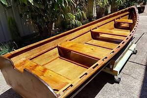 Timber river boat Warners Bay Lake Macquarie Area Preview