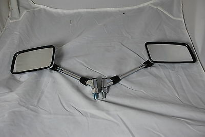 MIRRORS OEM STYLE CHROME  E MARKED A GRADE  FOR YAMAHA XJR1300  ALL YEARS