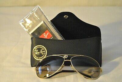 Ray-Ban Sunglasses Aviator Gold Brown RB 3293 001/1363 13 3N 100% UV (Ray Ban 3293 Gold)