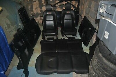 2006 Ford Fiesta ST150 Mk6 3DR - SET OF FULL LEATHER SEATS WITH DOOR CARDS