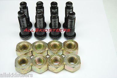 For Bobcat Lug Nut Stud Kit 720 721 722 730 731 732 741 742 743 Wheel Skid