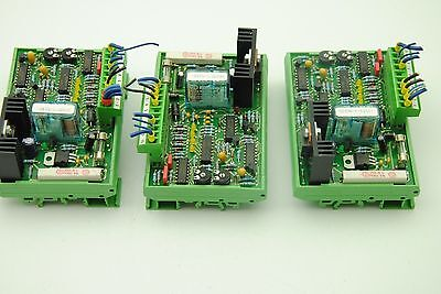 Phoenix Contact Ge080 Umk-se 1125-1 W Finder 40.52 8a 250v Relay Lot Of 3