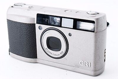 Ricoh GR-1 35mm Point & Shoot Film Camera w/28mm Lens F/S #545