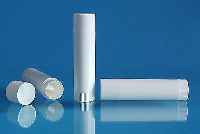 10 Lippenpflegestifthülsen 6ml weiße Lippenstifthülsen MADE IN GERMANY, BPA-frei