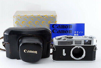 [Excellent Canon Model 7 Rangefinder Camera w/Box and Case From Japan