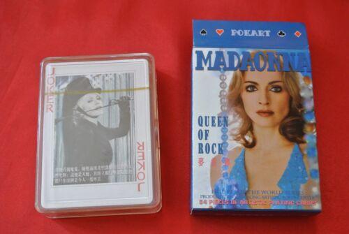 Rare Madonna Celebration Playing Cards Import China