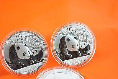 2011  1 Oz Silver Chinese Panda Coin