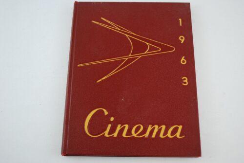 1963 Lakewood High School Yearbook Cinema Lakewood, Ohio