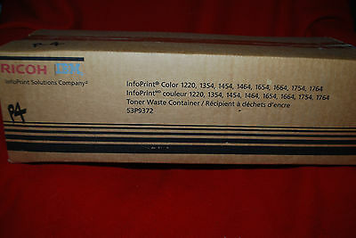 Ricoh Infoprint 1220 Color Toner Waste Container 53p9372 Nib Free Shipping
