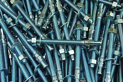 (30) Concrete Wedge Anchor Bolts 3/8 x 5 Includes Nuts & Washers