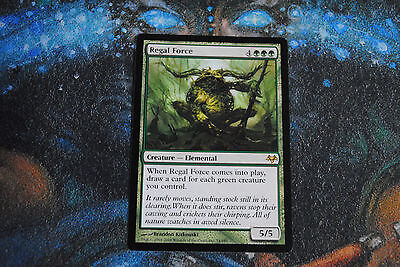 MTG - 1 x Regal Force - Eventide - Excellent Condition