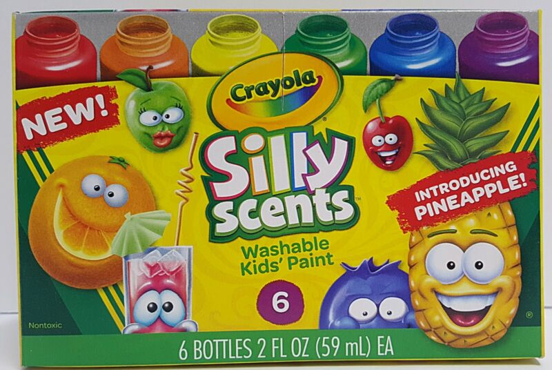 New Crayola Silly Scents Washable Kids