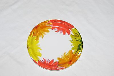 Fall Flower Paper Party Plates - 8.75