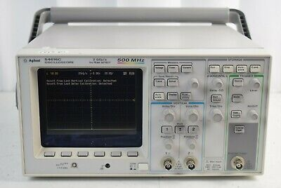 Hp Agilent 54616c Oscilloscope With 54659b Measurementsstorage Module