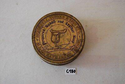 C180 Ancienne boite en métal - Haymarket London cire graisse