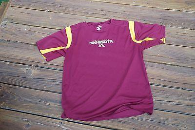 Minnesota Golden Gophers Adult Large Shirt By Pro Edge