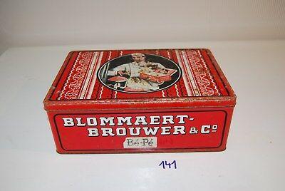 C141 Ancienne boite en métal - Blommaert Anvers - old vintage