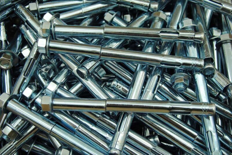 (15) Concrete Sleeve Anchors 1/2 x 6 Includes Nuts & Washers Expansion Bolts