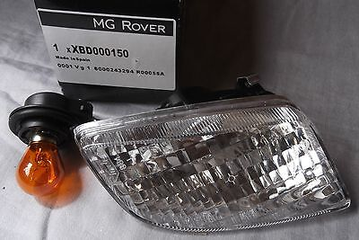 Genuine Rover 75 Lamp-front bumper direction indicator - LH XBD000150