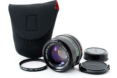 CANON NFD NEW FD 50mm f/1.4 1:1.4 MF FD Lens [Excellent++] from Japan #2196