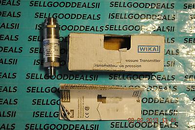 Wika 4392422 C-10 Transmitter 0-150 Psi 4-20ma 10-30vdc New