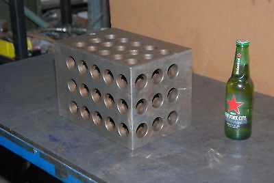 Huge Machinists Set Up 1-2-3 Block11x7.5x7.5holes1-516and 12 Inv25444