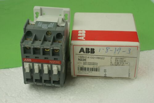 NEW ABB 1SBH141001R8022/N22E CONTACTOR RELAY