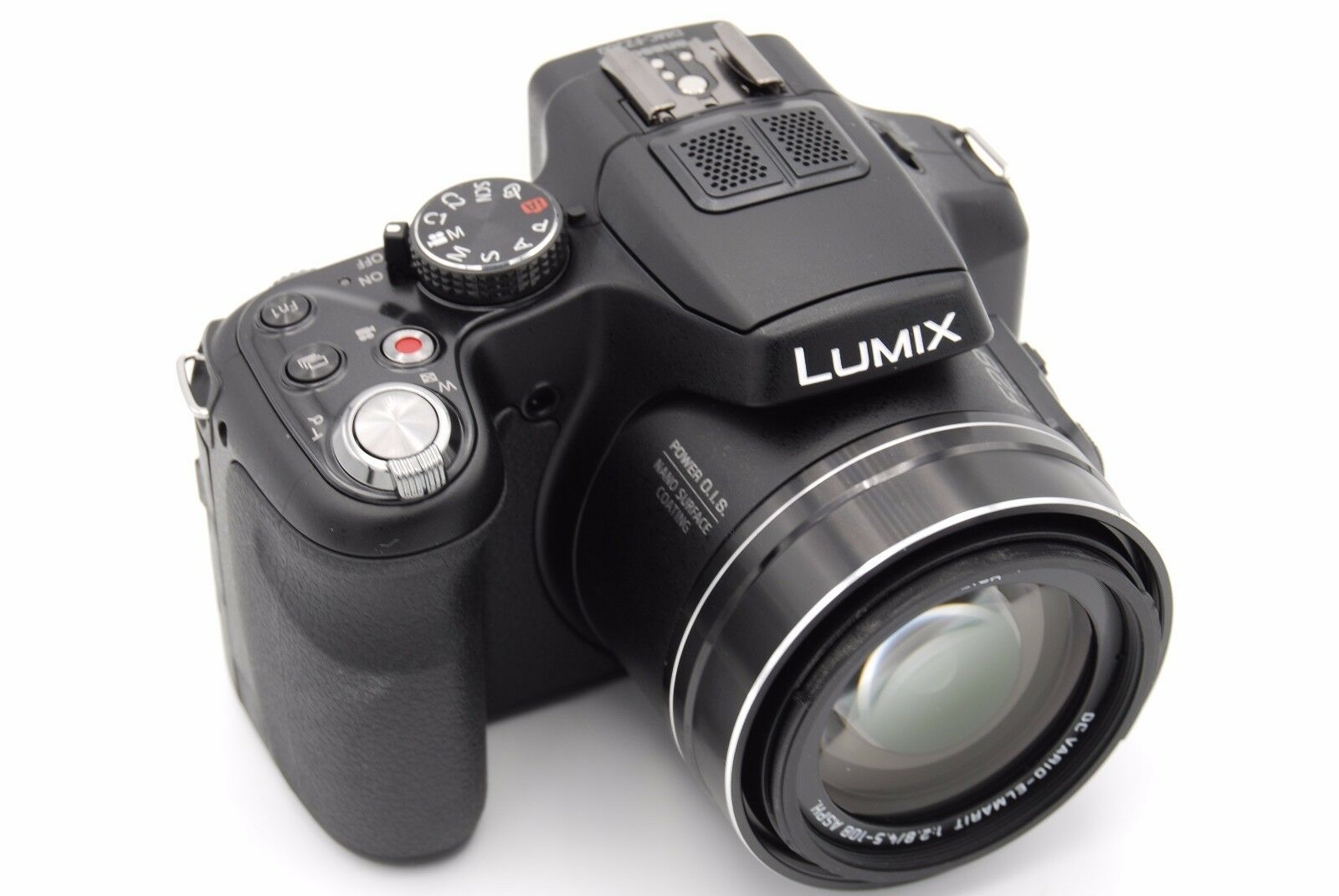panasonic lumix dmc fz200 12 1mp 3 39 39 screen 24x zoom digital camera. Black Bedroom Furniture Sets. Home Design Ideas