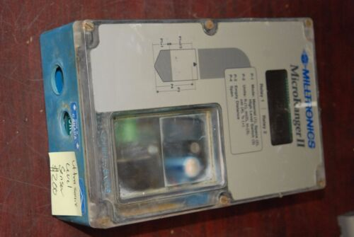 Milltronics MicroRanger II, Ultrasonic Level Sensor, 24751322,