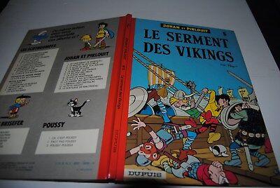 Johan et Pirlouit le serment des Vikings 1976