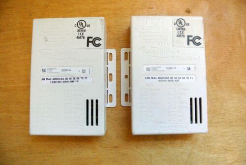 LOT OF 2 RAULAND BORG TELECENTER IP MODULE TCC2011/TCC2011A