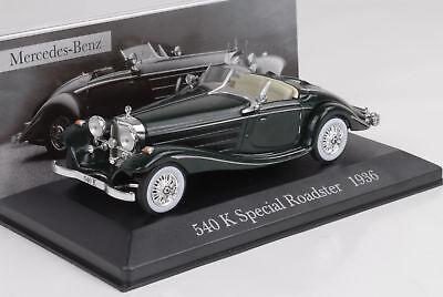 incl Mercedes-benz 540k Special roadster convertible 1936 negro revista nr 20..
