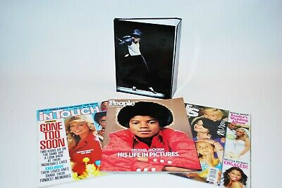 3 MICHAEL JACKSON Tribute Magazines PLUS 1 magnetic clasp JournalJuly 13th (July Diary)