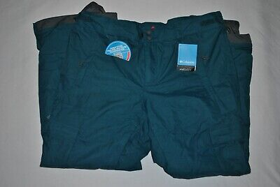 Columbia Ridge 2 Run II pant Omni Heat omni tech Waterproof Ski Pants XL NWT Run Omni Tech Pant