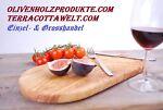 Terracotta-Olivenholz