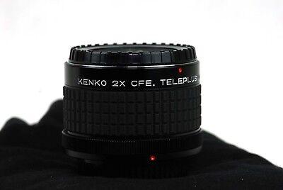 Canon FD Kenko 2x CFE. Teleplus Konverter  TOP TOP ( NEX OMD NX) gebraucht kaufen  Balduinstein