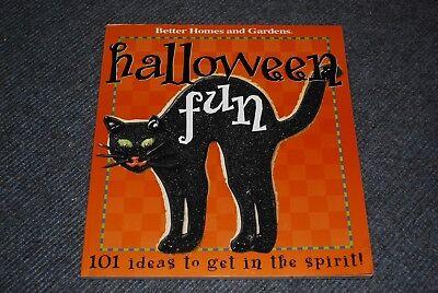 Halloween Fun Deko 101 Ideen Buch Better Homes and Gardens 2001 auf englisch