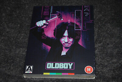 Oldboy - Rare & OOP Region B Arrow Limited Edition - Slip Cover - Min-sik Choi