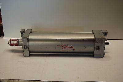 Milwaukee Cylinder 22353 5 Bore 15 Stroke 250psi Temposonics G Series Mts New