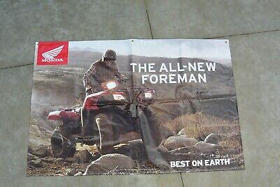 Honda All New Foreman Best On Earth Shop Sign Vinyl Sign Honda