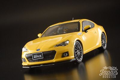 [First43 1/43] Subaru BRZ STI tS 2013 Yellow F43-079