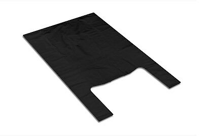 Supermarket Polyethylene Plastic Bags Grocery Food 30x55 0,013 Black 2000pcs