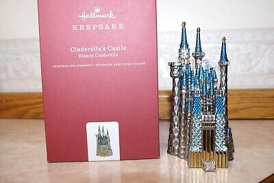 NEW CINDERELLA�S CASTLE HALLMARK ORNAMENT 2018 DISNEY CINDERELLA METAL, MINT!