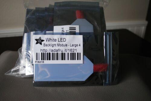 Lot of 35 White LED Backlight Module - Large 45mm x 86mm