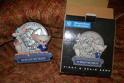 PINKY AND THE BRAIN BANK.  RARE FIND. Great Holiday Gift